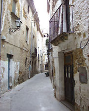 Carrer del Call (antic barri jueu).